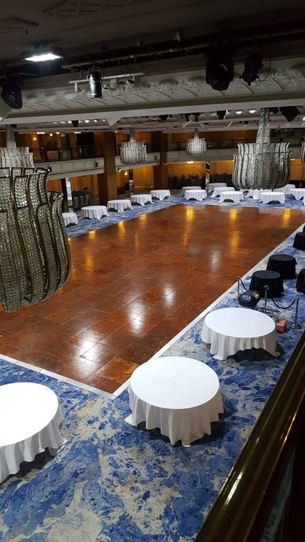 Florlok Parquet dance floor for sale
