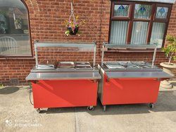 Moffat Pair Of Carvery Unit's