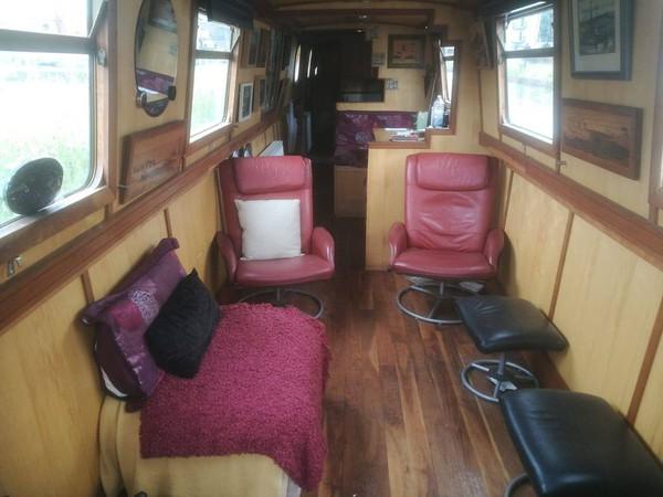 57ft narrowboat built 2005