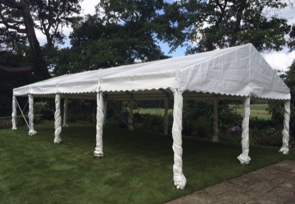 Marquee for pubs - social distancing