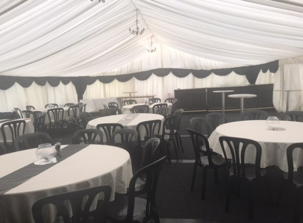 Marquee linings available