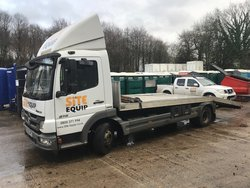 2012 Mercedes-Benz  Atego Beavertail