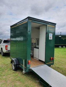Used toilet trailer