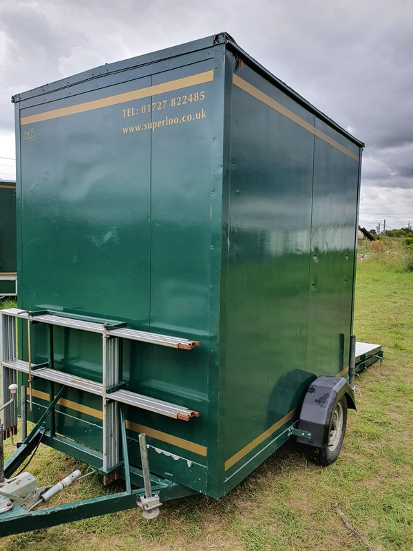 Disabled toilet trailer