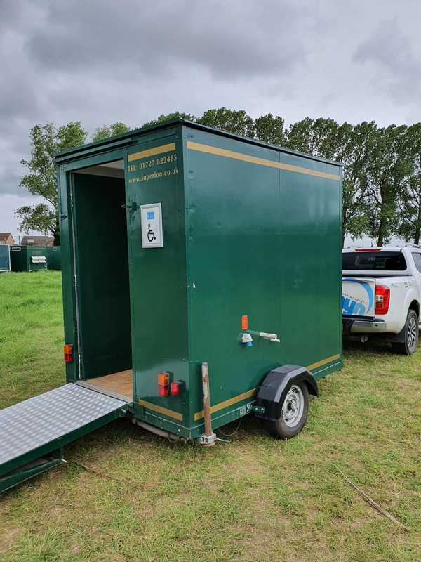 Secondhand Disabled toilet trailer