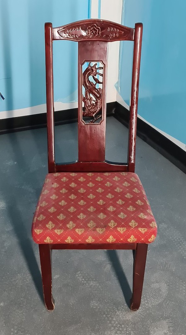 Oriental Carved Dining Chairs