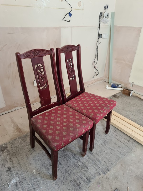 Dining Chairs Joblot Chinese Dragon