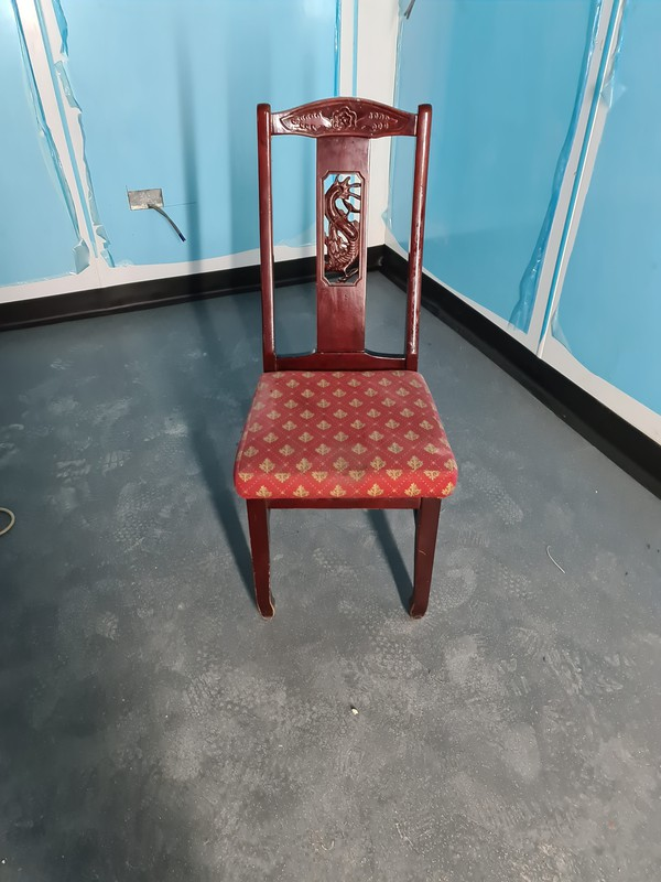 job lot of dining chairs for sale