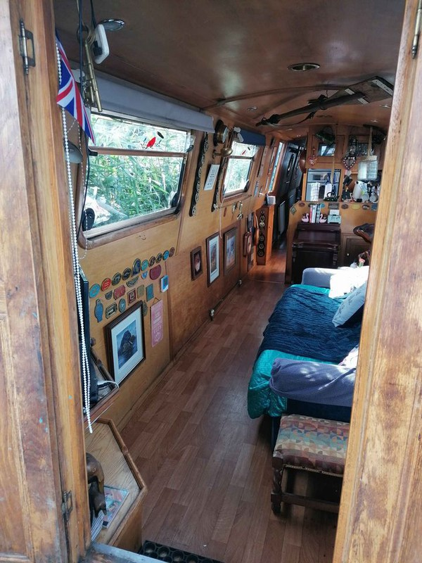 55ft canal boats for sale
