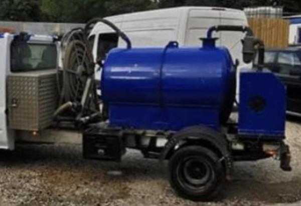 Rapide 180/100 vacuum tanker