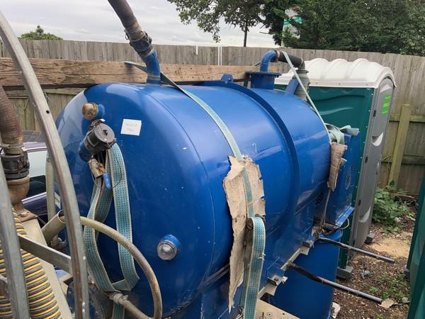 used Rapide 180/100 vacuum tanker