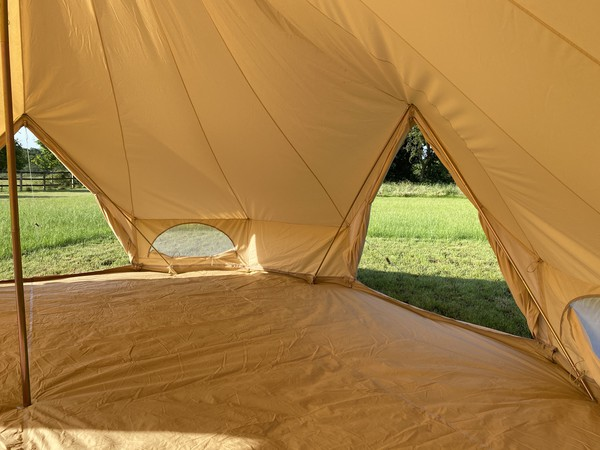 Commercial glamping bell tents for sale