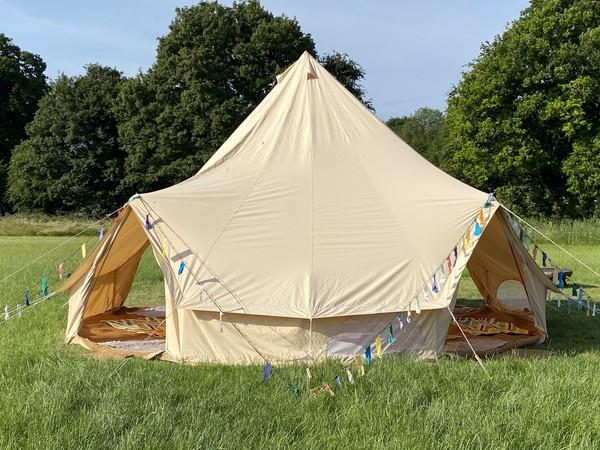 Four door 7m Bell Tent for sale