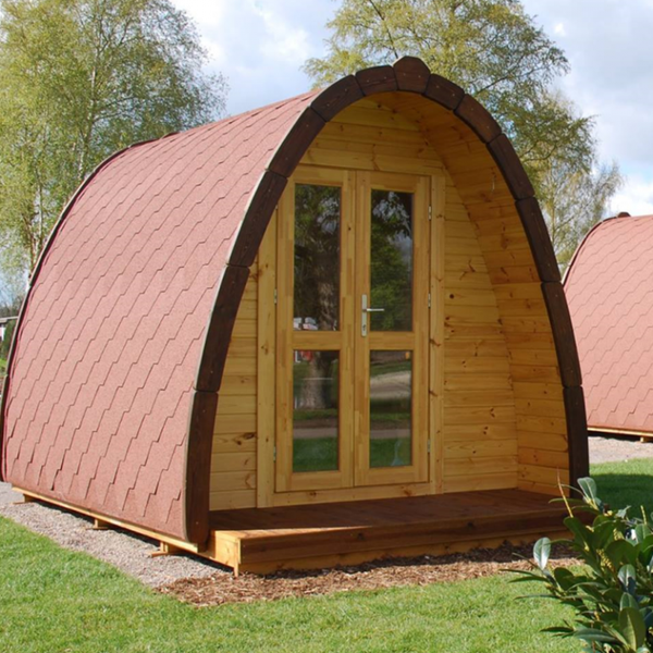 3m x 2m Glamping pods for sale