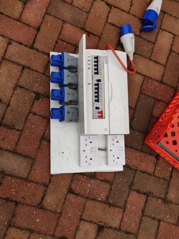 used Power Cables And Boards Job Lot