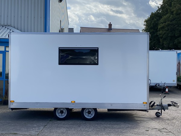 secondhand site office trailer