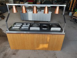 Large carvery counter