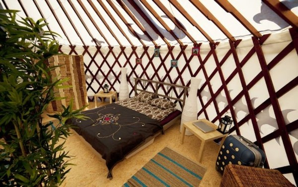 Luxury Yurt hire
