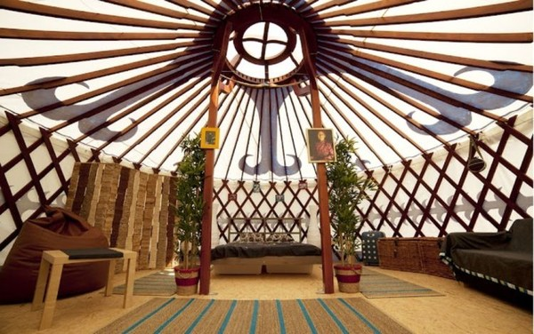Luxury Yurts for hire