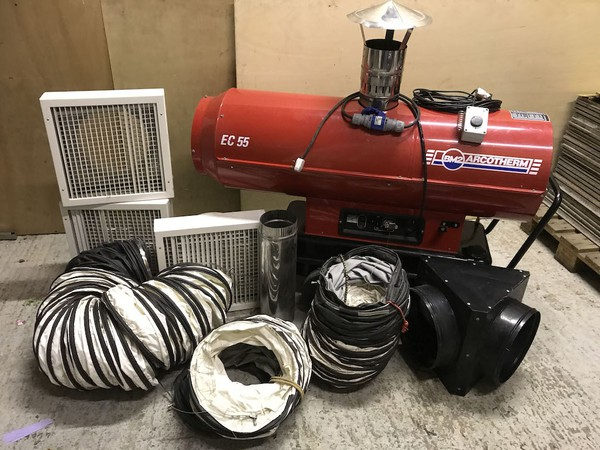 Arcotherm EC55 240v Heater Gold Package