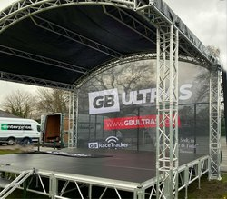 Stage decks and roof system