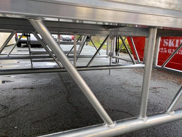Aluminium sub stage base
