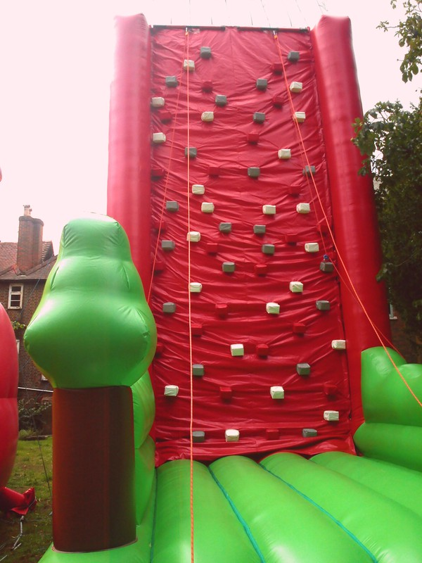 Inflatable climbing wall for sale