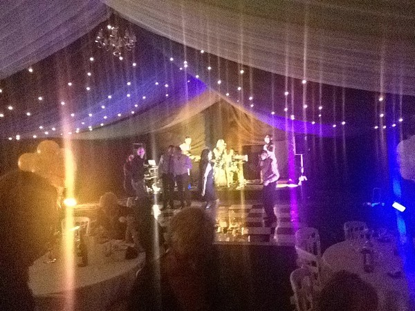 Marquee lighting by Light bars