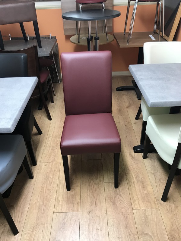 Wine Coloured Dining Chair