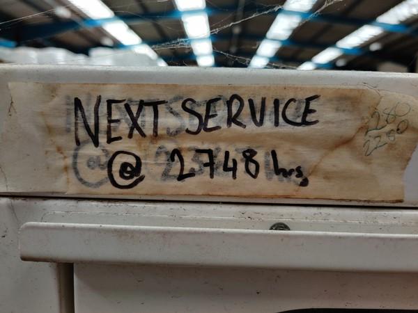 Next service 2740 Hrs