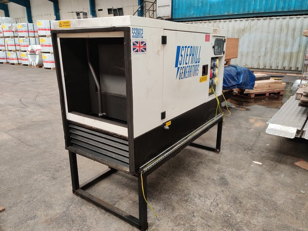 Super silent generator on stand
