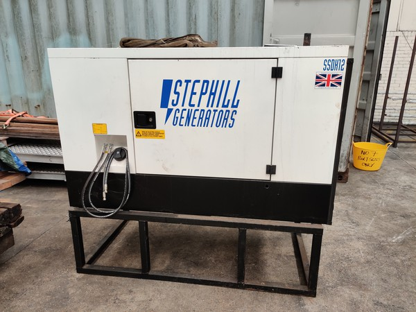 Supper silent Generator with fuel connection