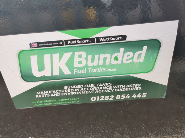 UK Bunded Fuel Tank