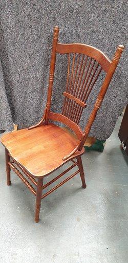 Stickback chairs