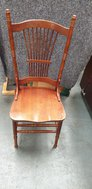 Used Stickback chairs