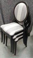 Stacking dining chairs for sale