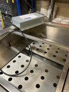 Drop in Bain Marie with gantry