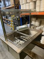 Dry will Bain Marie with gantry