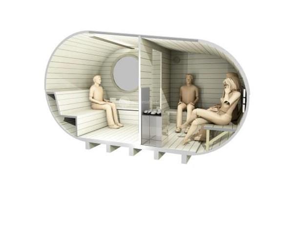Sauna bench seating