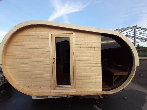 Wood barrel Sauna