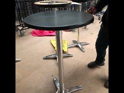 Black Poseur Tables for sale