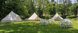 Bell tent hire business for sale