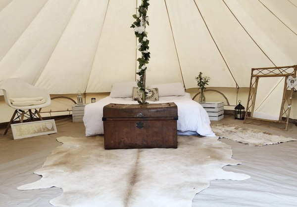 Glamped Up - Bell tent hire business for sale