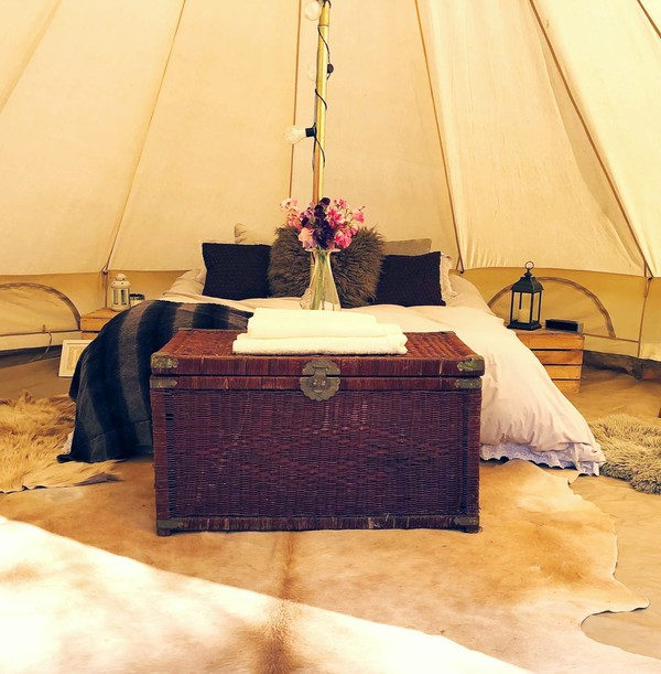 Glampsite bell tents for sale