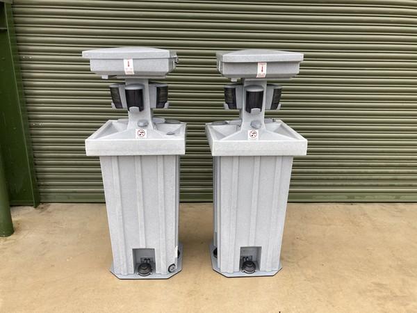 Freestanding Hand Washing Units