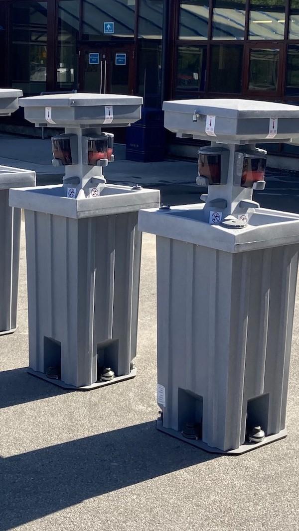 Freestanding Hand Wash Stations
