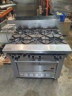 LPG or Natural Gas Range cooker