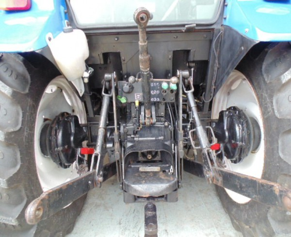 New Massey Ferguson tractor