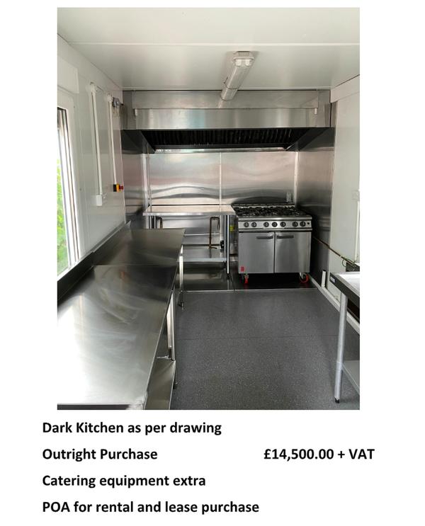 Dark kitchens for sale