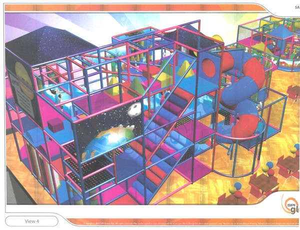Three floor soft play area for sale